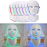 Light Photon Facial Mask 7 Color for Anti-Aging Skin Rejuvenation Face and Neck