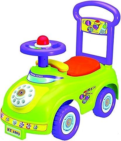 Rutschauto in 10 verschiedenen Modellen - Ein guter und preiswerter Aufsitzwagen Rutschwagen Lauflernwagen Kinderfahrzeug , Modell:Green Phone