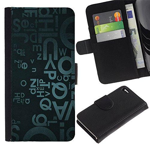 Graphic4You Niedlich Plastic Stars Design Brieftasche Leder Hülle Case Schutzhülle für Apple iPhone 4 und 4S Design #14
