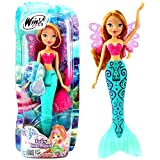 Flora | Fairy Mermaid Bambola | Winx Club | Cambio di Colore | Fata 28 cm