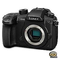 PanasonicLumix DC-GH5 Mirrorless Digital Camera Body Only - 20.3 MP, 4K, Black