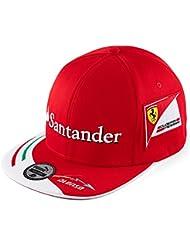 Gorra oficial nuevo Ferrari F1 Racing Puma Alonso Flat pico