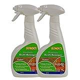 Bondex Hartholz Kraftreiniger 2 x 500 ml Sprühflasche