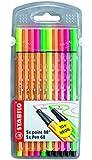 STABILO point 88/Pen 68 neon 10er Etui - Fineliner und Premium-Fasermaler