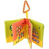 Zibuyu Baby Soft Cloth Books Newborn Infant Rustle Sound Educational Stroller Toy