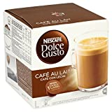 Product Image of Nescafé Dolce Gusto Cafe Au Lait, Pack of 3 (Total 48...
