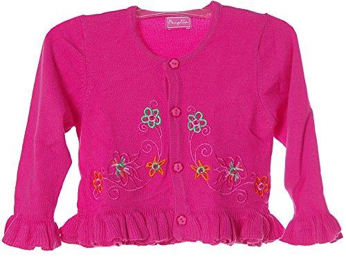 PAMPOLINA® Strick Jacke Strickjacke Rosa 74 (Baby-mädchen Pampolina)