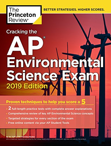 Read Cracking The Ap Environmental Science Exam 2019 Edition College Test Preparation Online Book By Princeton Review Full Supports All Version Of Your