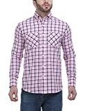FASH-A-HOLIC Pink Casual Shirt (F-110-Pi...