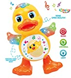 #9: Kids Play Toys Dancing Duck with Real Dancing Action & Music Flashing Lights, Multi Color