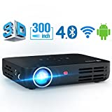 Beamer WOWOTO DLP Mini Beamer 3500Lumens 3D Full HD Projektor Multimedia...