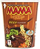 Mama - Cup Beef Flavour - Fideos orientales sabor a ternera - 70 g