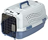AmazonBasics 19-Inch (48 cm) Two-Door Top-Load Pet Kennel