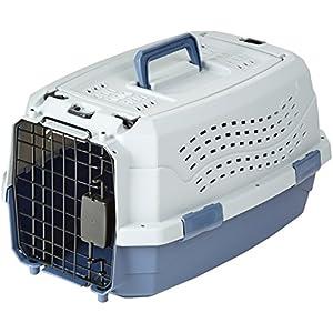 [Gesponsert]AmazonBasics Transportbox für Haustiere, 2 Türen, 1 Dachöffnung, 48cm
