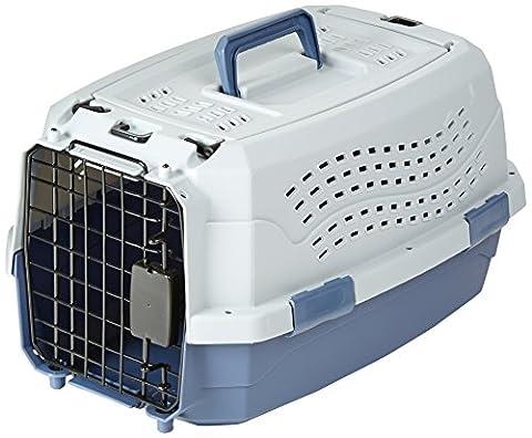 AmazonBasics Caisse de transport pour animal domestique 2portes dont 1sur