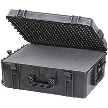 Max MAX620H250S IP67 resistente al agua nominal de tapas rígidas para fotografía equipo estanca resistente de transporte tirador plástico funda Transit/espuma de poliuretano de/caja de transporte para iMac caja de herramientas