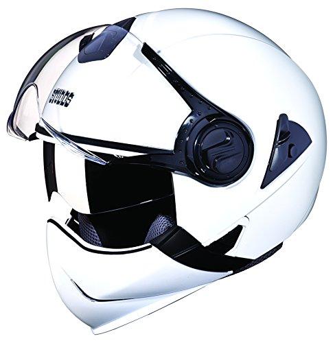 Studds Downtown Full Face Helmet (White, XL)