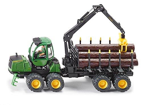 Siku 4061 - John Deere Forwarder - Spielzeug Deere Metall John