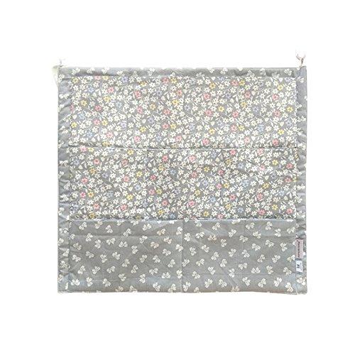 1 stücke 【babybett Hängen taschen】 52 * 56 cm Baumwolle Babybett Wickeltasche Lagerung Hanging Organizer