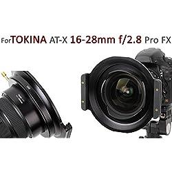 Porte-Filtre de Haute qualité en métal Marque HAIDA pour 150 série Plug-in Filtre pour Le Tokina at-X 16-28mm f/2.8 Pro FX