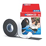 Geko 16000 Nastro Adesivo autoagglomerante, Nero, 25 mm x 3 m