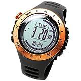 [LAD WEATHER] Sensor Suizo Resistente a 100m de Agua Altímetro Tiempo (Soleado/Nublado/Lluvia/tormenta) Reloj multifunción