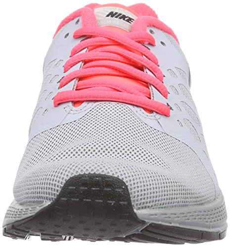 Nike Air Zoom Pegasus 31 Flash Damen Laufschuhe Grau (Reflect Silver/Black/Hyper Pink)