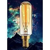 KINGSO E14 40W 220V Amouple à Incanedescence Edison Rétro Lampe Filament Décoration Eclairage Antique Vintage Blanc Chaud
