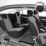 DBS 1011903 Autositzbezüge - nach Maß - hochqualitative Fertigung - Schnelle Montage - Kompatibel mit Airbag - Isofix