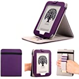 Mulbess - Nook GlowLight 4th Stand Cover ¨¦tui Housse de Transport avec Support Couleur Violet (Pas pour NOOK Simple Touch with GlowLight NOOK 3rd Gen or NOOK Simple Touch NOOK 2nd Gen)