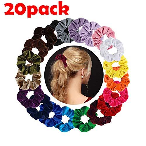 Multicolor Banda Pelo Stretchy,Scrunchies