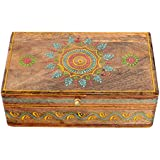 Handmade Wooden Painting Home Decorative Gift Dry Fruit Box