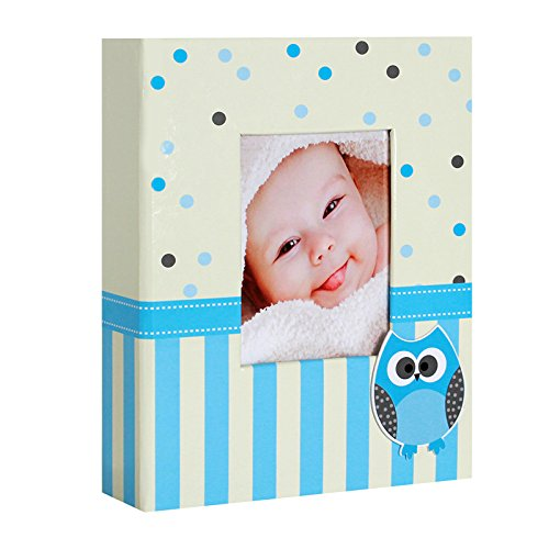 album-photo-naissance-a-pochettes-bravo-bleu-pour-304-photos-10x15-cm