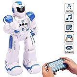 JINRU Fernbedienung für Kinder Roboter Intelligente programmierbare Roboter-Controller Infrarot-Spielzeug, Tanz, Singen, LED-Augen
