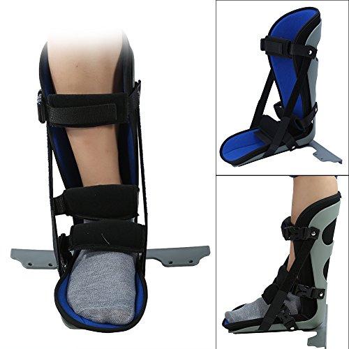 Filfeel Nachtschiene, Fuß-Tropfen-Schiene Knöchel-Stützklammer für Fersen-Schmerz(M) -