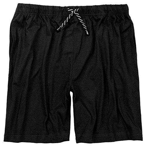 Adamo Schlafanzughose kurz XXL/56 bis 10XL/88 schwarz oder blau Schwarz