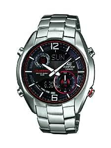 Casio Herren-Armbanduhr XL Edifice Analog - Digital Quarz Edelstahl ERA-100D-1A4VUEF