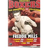 BOXING - FREDDIE MILLS v LESNEVICH 1946, WOODCOCK 1946, BUENO 1948, LESNEVICH 1948, RALPH 1948 - VERY COLLECTABLE NOW DAYS AND BECOMING VERY HARD TO FIND - NEW BUT NOT SEALED - VERY VERY RARE IN THIS CONDITION