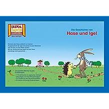Kamishibai: Die Geschichte von Hase und Igel: 17 Bildkarten für das Erzähltheater (Kamishibai Erzähltheater)