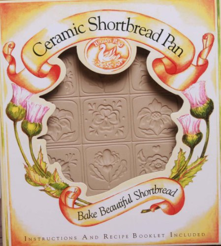 Brown Bag Design Alpine Flower Shortbread Cookie Pan, 11-Inch by 8-1/2-Inch by Brown Bag Brown Bag Shortbread Pan
