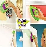 Generic de pintura rodillo y bandeja Set cepillo de pintura Pintura Pad Pro punto N pintura herramienta de la pared Drop Shipping