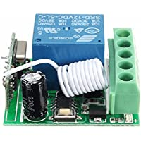 Interruttore di controllo remoto Relais - TOOGOO(R)Rele' Relais Modulo DC 12V 1 Canale Wireless Relay (Relè Interruttore)