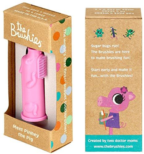 Cepillo de dientes para bebés y niños pequeños - La Cerdita Pinky!