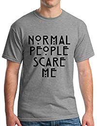 Normal People Scare Me Camiseta