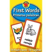 First Words / Primeras Palabras (Brighter Child Flash Cards)