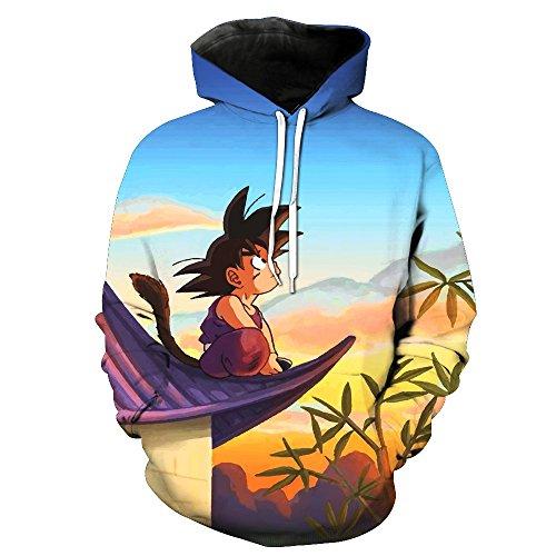 Sudadera Dragon Ball:Goku niño