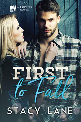 First to Fall: A Sports Romance (Triplets Book 1) (English Edition)