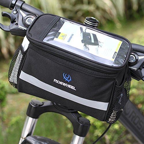 Broadroot Cool Mobile Protection contre la chaleur amovible Sac avant de vélo (carte Autorisé)