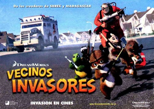 Over the Hedge Plakat Movie Poster (11 x 17 Inches - 28cm x 44cm) (2006) Spanish