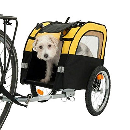 Remorque vélo pour chien Voyage Vacances sûr confortable Rides